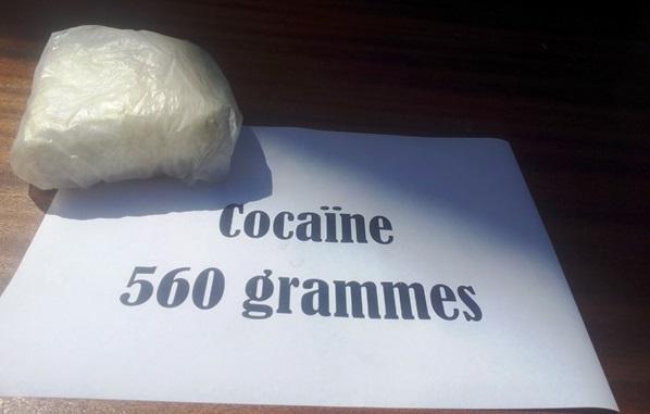 La drogue saisie par les forces de sécurité
