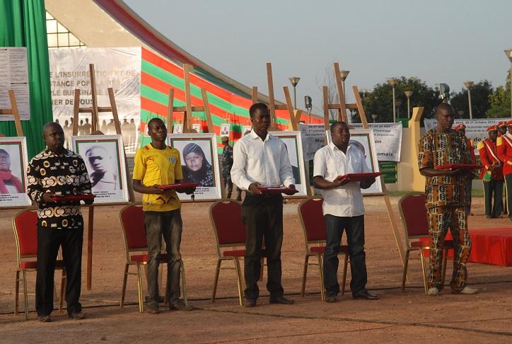 Les martyrs ont été faits chevaliers de l'ordre du mérite national à titre posthume © Burkina24