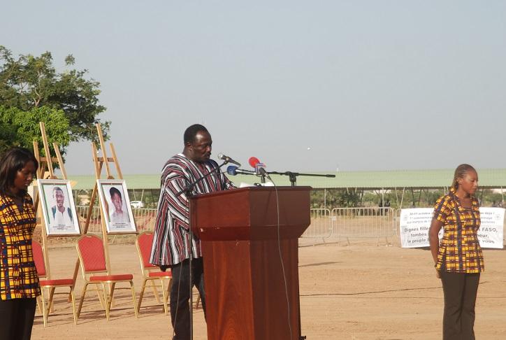 Le représentant des blessés a fait des reproches au gouvernement et au CNT © Burkina24