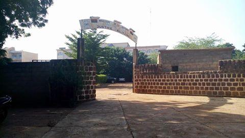 Le siège de la justice militaire à Ouagadougou