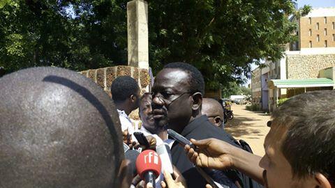 Me Bénéwendé Sankara, avocat de la famille  Sankara  © Burkina24