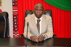 Simplice Poda, le président de la commission d'enquête © DCPM Premier ministère