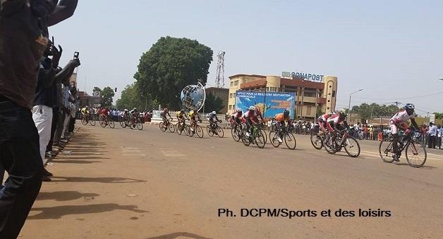 Les coureurs ont parcouru près de 12 km de criterium dans la ville de Ouagadougou