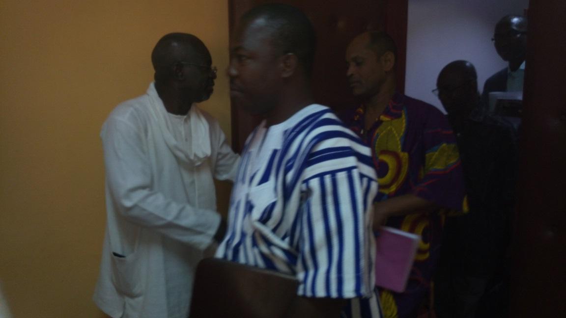 Le président du CNT a tenu à saluer les députés et à les remercier à la fin de la séance