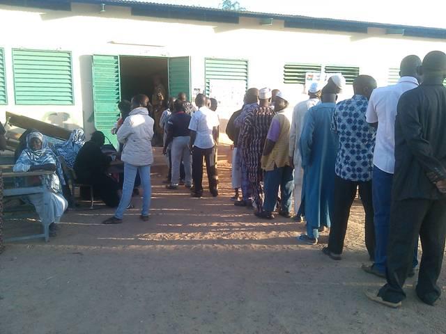 Des électeurs à Ziniaré