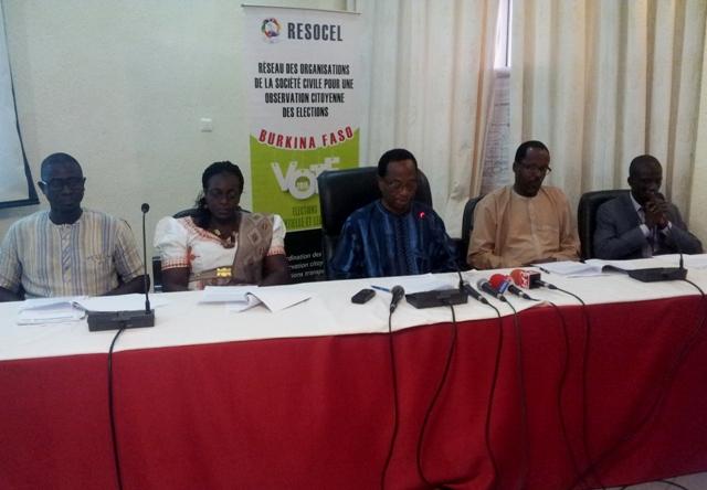 La mission d'observation du RESOCEL s'est dite satisfaite du déroulement des élections.