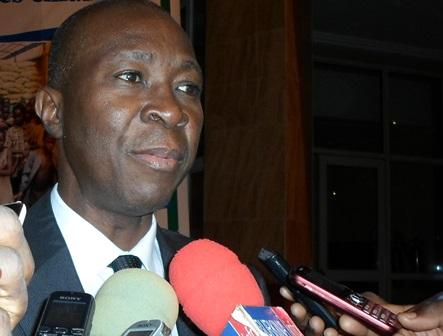 Bakary Traoré, chargé de communication à Fonds enfants