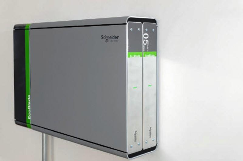 Aperçu de la batterie EcoBlade de Schneider Electric.