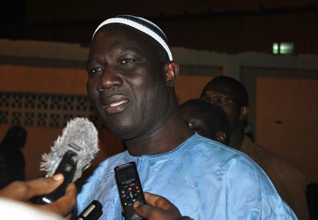 Le Gouverneur de la Région du Nord, Hassane Sawadogo.