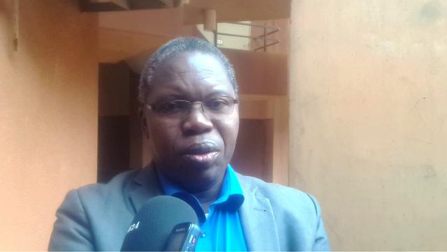 Pr Sawadogo, philosophe et directeur de l'école doctorale Lettres, sciences humaines et communication de l'université de Ouagadougou.