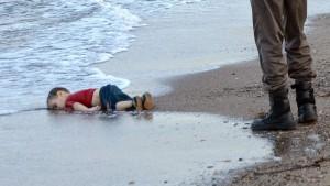 Aylan Kurdi avait 3 ans.