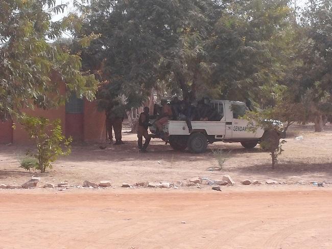 Une unité de la gendarmerie était présente pour éviter les débordements