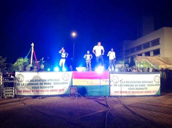 Ce plateau artistique a permis à la population de Bobo-Dioulasso d'être présent jusqu'à la fête finale