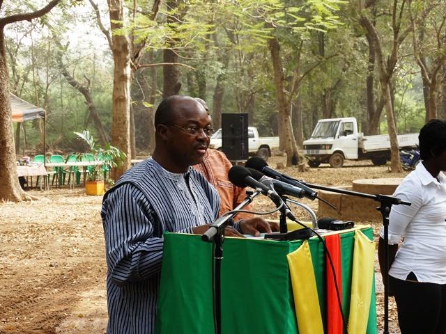 Somanogo Koutou, ministre des ressources animales et hydrauliques.