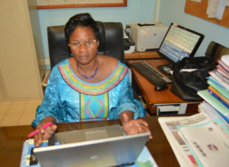 Dr Isabelle Bicaba/Sanou, Directrice de la santé de la famille (DSF)