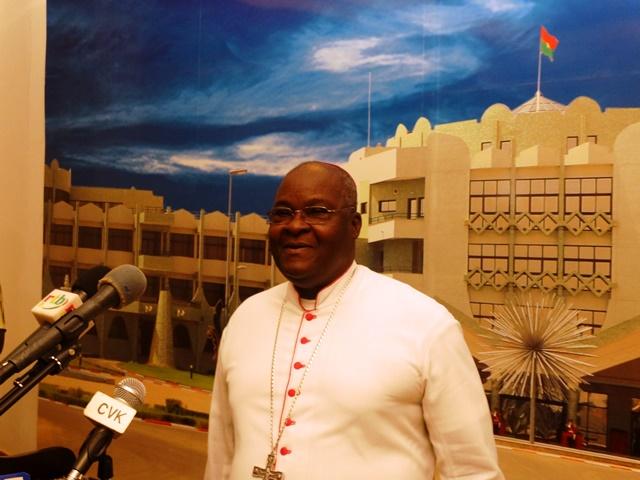 Mgr Paul Ouédraogo, président du CRNR.