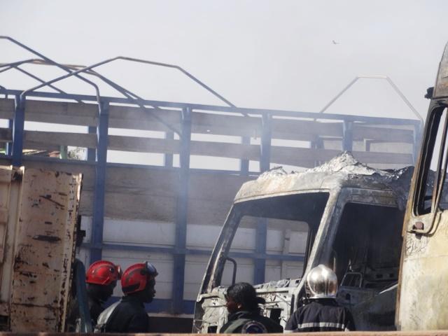 Il n'est noté que des dégâts matériels © Burkina24