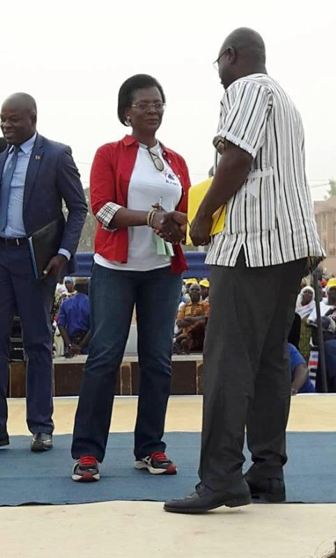 Remise du plaidoyer au ministre de la santé, Smaïla Ouédraogo