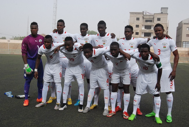 Cette équipe des moins de 20 ans du Burkina d'accord améliorer son jeu pour espérer se qualifier pour la Zambie