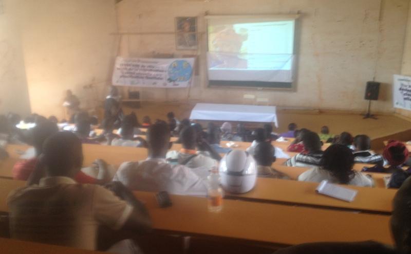 Panel à l'Université de Ouaga