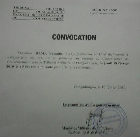 Ladji Bama Commissaire