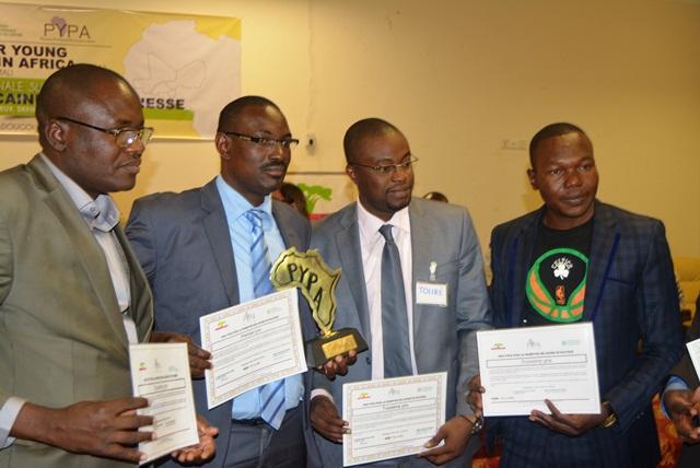 Une vue des lauréats du prix décerné par l'IGD