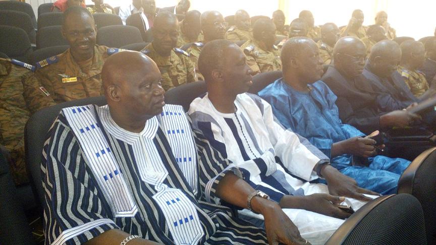Des militaires à la retraite ont participé à cette rencontre avec le Chef de l'Etat © Burkina24