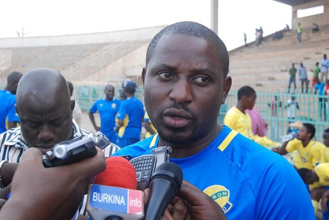Thierry Dieu-Donné Mouyoum coach Gabon U20