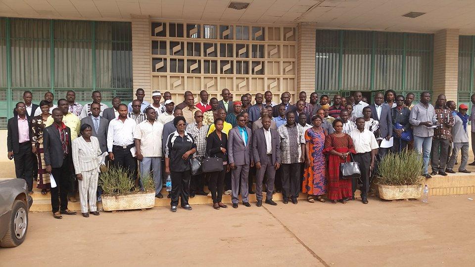Le ministre Tairou Bangré compte mettre à la disposition de toutes les fédérations des infrastructures adéquates pour la pratique du sport (ph. Sylvain Zingué)