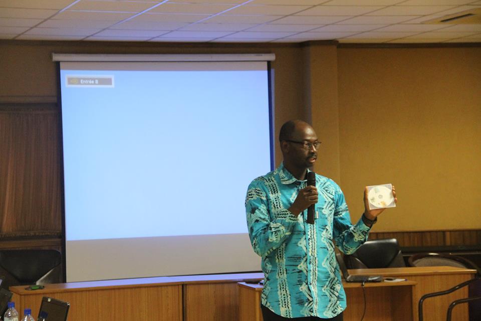 Le représentant de Tree Aid, Désiré Ouédraogo