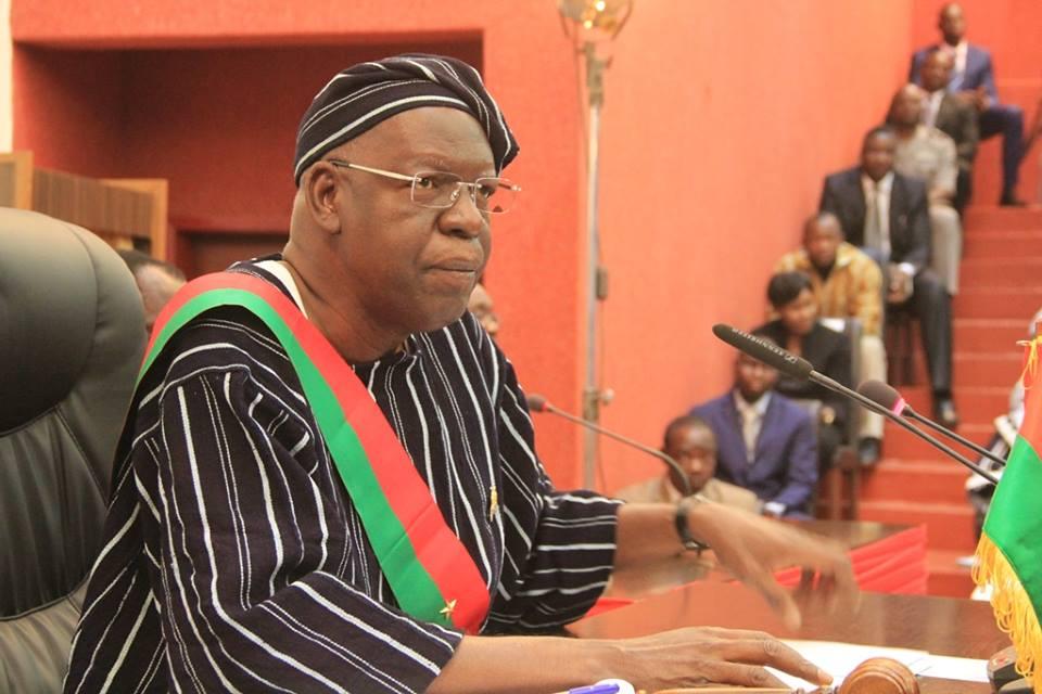 Salif Diallo, président de l'Assemblée nationlae