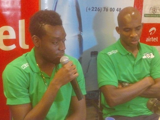 Alain Traoré et Charles Kaboré ont affiché leur détermination pour le match aller contre l'Ouganda