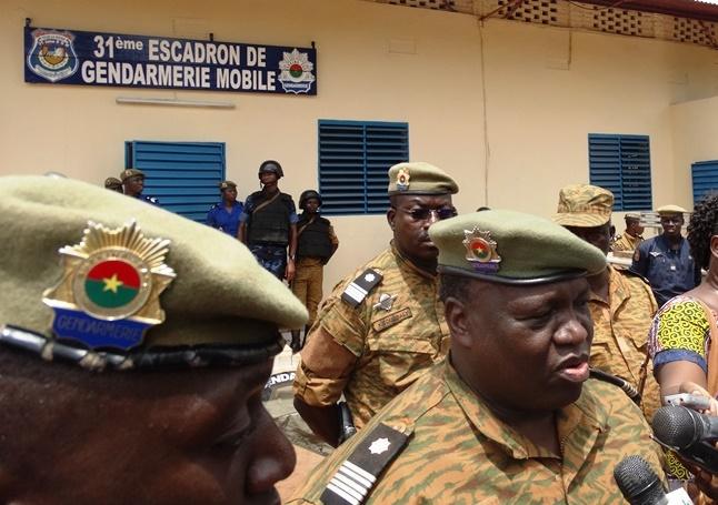 Colonel Tuandaba Coulibaly, chef d'état-major de la Gendarmerie Nationale