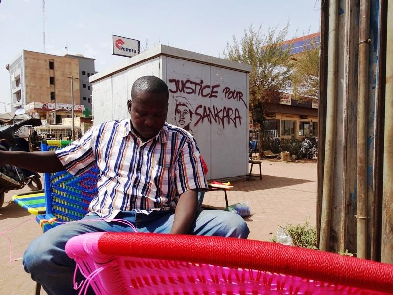 Dieudonné Tapsoba, fabricant de lipiko. © Burkina24