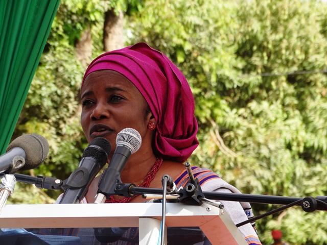 Dr Edwige Adékambi Domingo, représentante du Fonds des nations Unies pour la population (UNFPA)