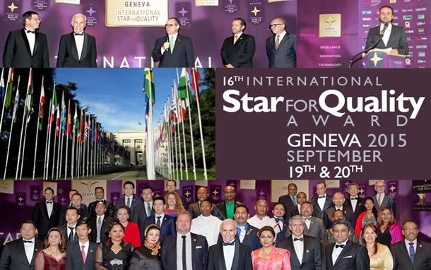 ENERTEL, l'image d'un leader entouré d'hommes et de femmes d'affaires venus de 74 pays du monde entier.