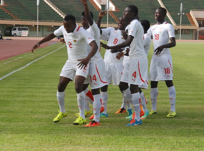 Etalons juniors du Burkina contre Maroc