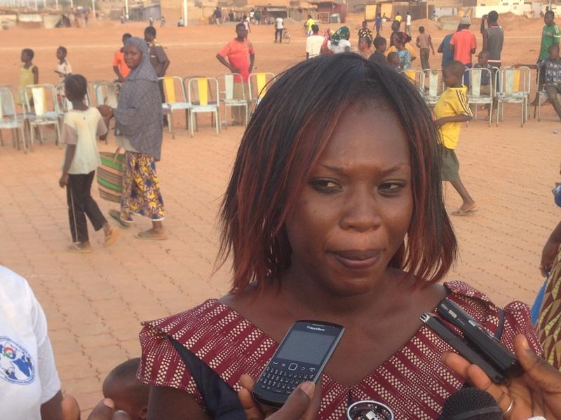 Aïcha Ouédraogo, la Chargée de Projet