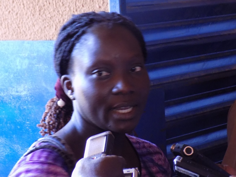 Joëlle Thombiano, Médecin au Centre médical urbain de Dédougou.
