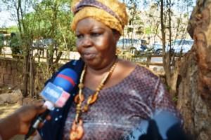 Konané Paré Suzanne, présidente de l'association Sitoi-Lawa