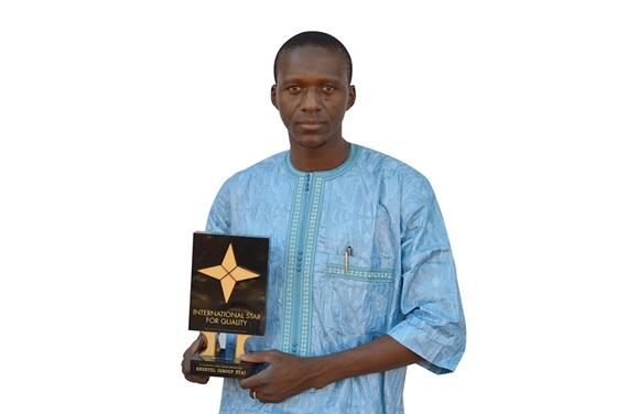 Le trophée International Star for Quality