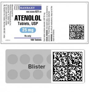 Produit pharmaceutique sécurisé avec « Counter-fight ». Date Marché Noir.