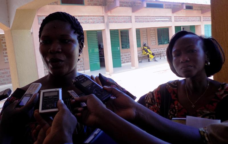 Rufine Kantiono de l'ONG Terre des Hommes.