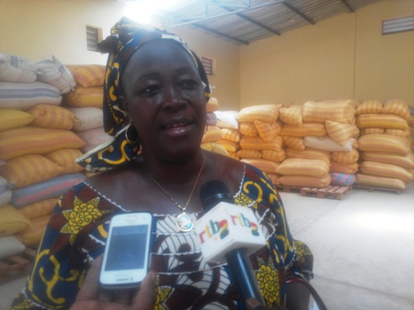 La Présidente de l'UDPA, madame Traoré/Sanou Madjara Véronique
