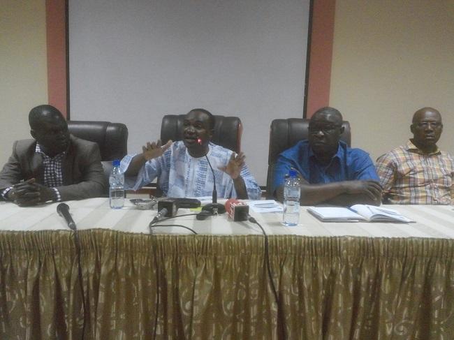 Le Président de la FBF Sita Sangaré (milieu) souhaite que le 12ème joueur joue sa partition