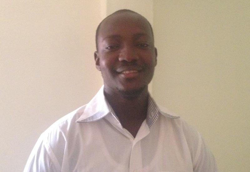 Tahirou Bationo, étudiant à l'Institut Supérieur Privé Polytechnique (ISPP).