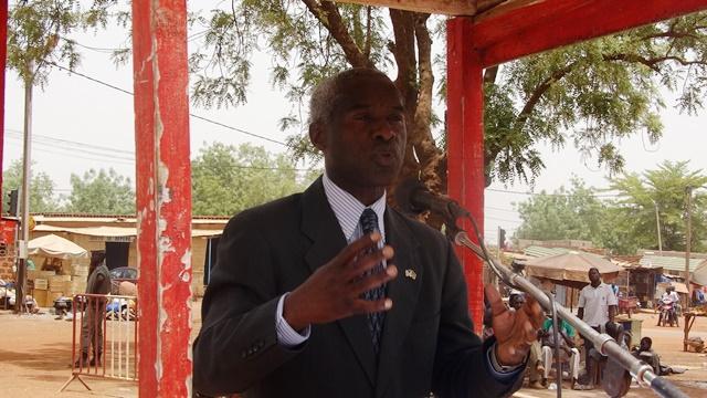 Tulinabo Mushingi, ambassadeur des Etats Unis au Burkina.