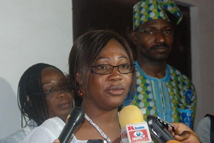 Germaine Tenkodogo Kaboré, chargée d'études au MENA