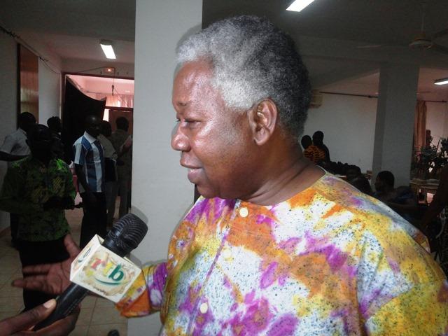 Gaston Kaboré, directeur de l'Institut Imagine.