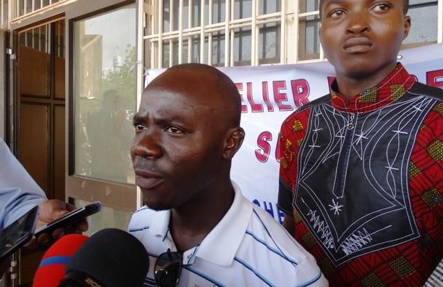 Souleymane Gorou, secrétaire général de la Fédération des jeunes leaders pour le développement du Burkina Faso (FJL/BF)